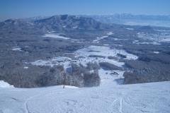 有名スキー場が中野市近くに沢山あります!
